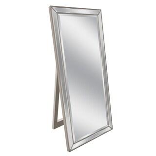Headwest 18 x 64 Metro Beaded Floor Easel Mirror