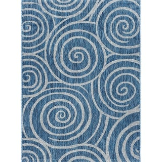 Porch & Den Ferguson Geometric Indoor/ Oudtoor Area Rug
