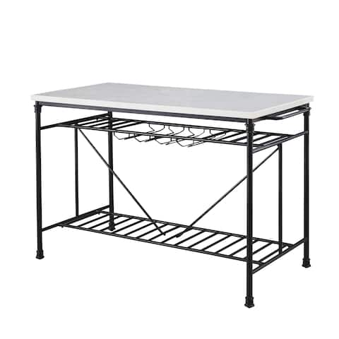 Callao Marble Tall Kitchen Island by Greyson Living