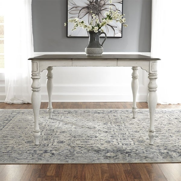 Shop Magnolia Manor Antique White Gathering Table