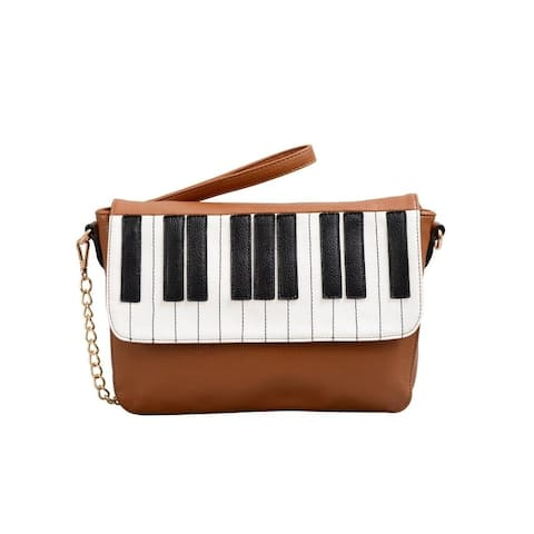 Mellow World Keyboard Piano Crossbody