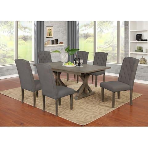 Best Quality Furniture 7-piece Dining Set