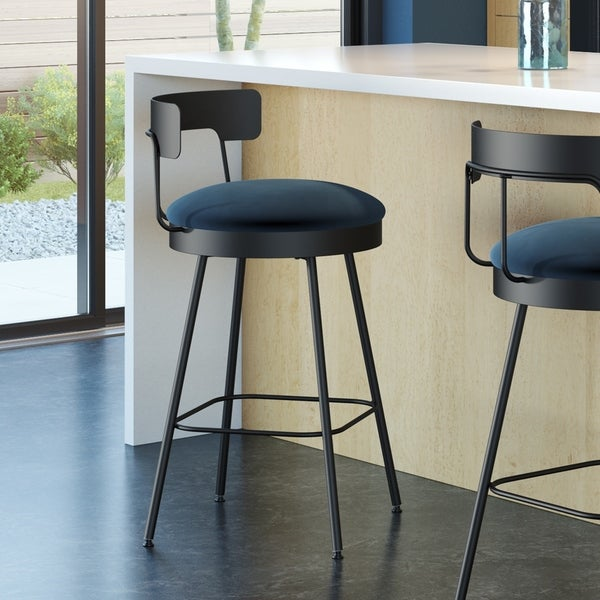 Amisco Monza Swivel Counter and Bar Stool. Opens flyout.