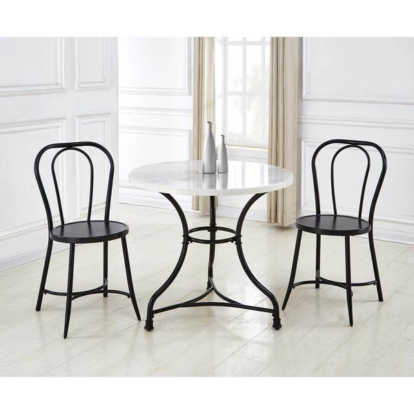 Callao 3 Piece Marble Bistro Set By Greyson Living On