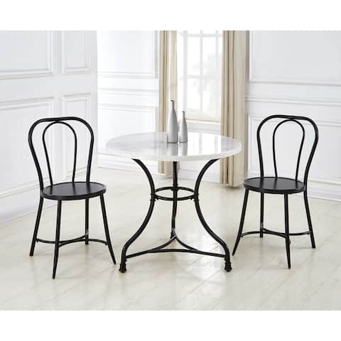 Callao 3-Piece Marble Bistro Set by Greyson Living
