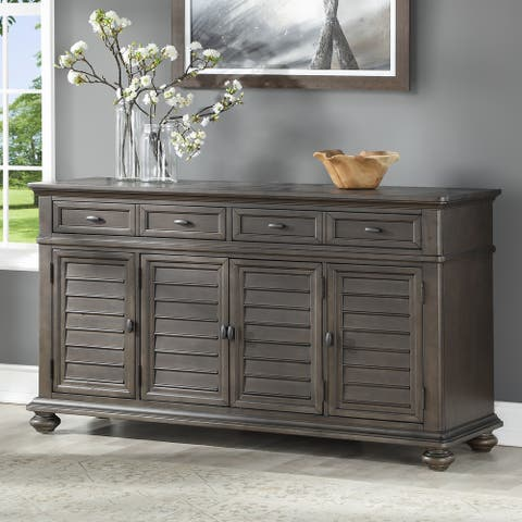 Lockwood Server with Wine Storage by Greyson Living