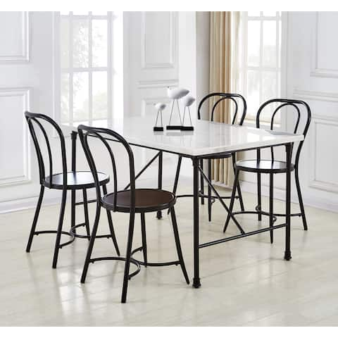 Callao Marble 5-Piece Dining Table by Greyson Living