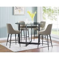 Orrick 48-Inch Round Counter Height Dining Set by Greyson Living