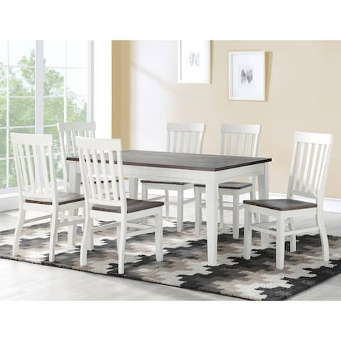 Crestwood Two Tone Farmhouse Dining Set by Greyson Living