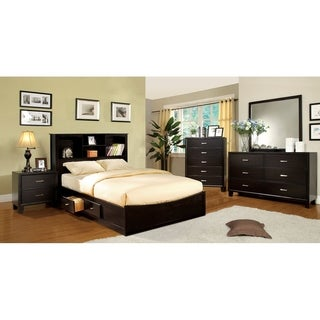 Willliams Home Furnishing Brooklyn Bed  in Espresso Finish