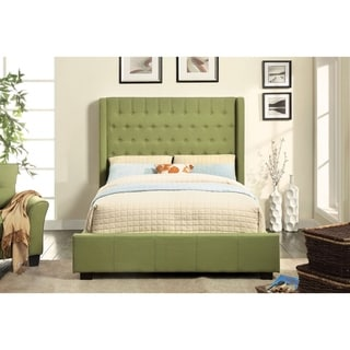 Williams Home Furnishing Mira Queen  Bed in Silver Finish
