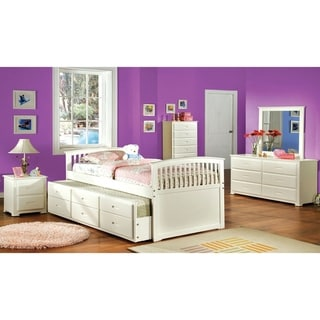 Williams Home Furnishing Bella Full Bed in White Finish