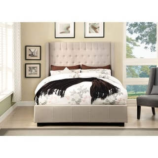 Williams Home Furnishing Mira California King  Bed in Beige Finish