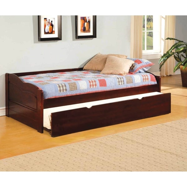 Williams Home Furnishing Sunset King Daybed in Cherry Finish