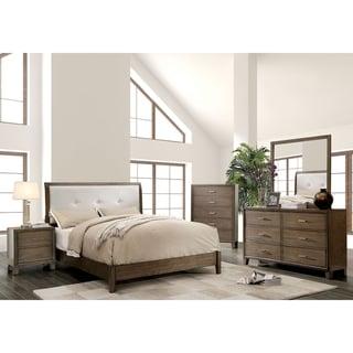 Williams Home Furnishing Enrico I California King  Bed  in Grey Finish