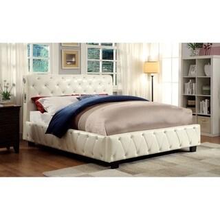 Williams Home Furnishing Julliard California King  Bed in Pink Finish