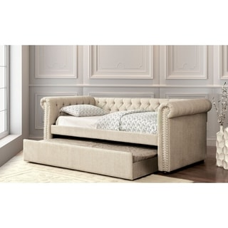 Williams Home Furnishing Leanna King Bed in Beige Finish