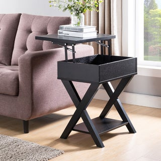 Link to The Gray Barn Tristan Grange Rustic Lift-top End Table Similar Items in Living Room Furniture