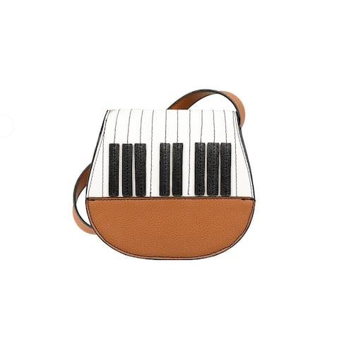 Mellow World Piano Saddle Crossbody