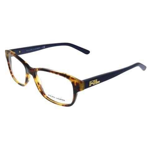 Ralph Lauren RL 6119 5351 53mm Womens Havana Frame Eyeglasses 53mm