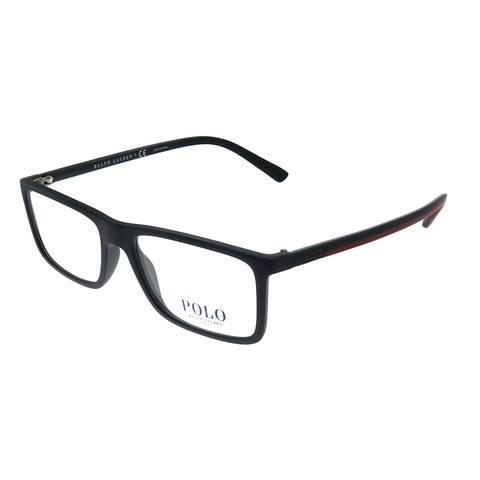 Polo Ralph Lauren PH 2178 5284 53mm Unisex Matte Black Frame Eyeglasses 53mm