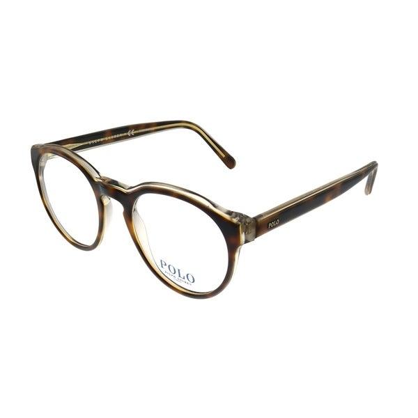 ae0a38788c58 Polo Ralph Lauren PH 2175 5640 50mm Unisex Havana on Crystal Frame  Eyeglasses 50mm