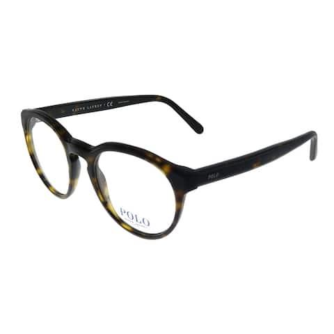 Polo Ralph Lauren PH 2175 5003 48mm Unisex Dark Havana Frame Eyeglasses 48mm