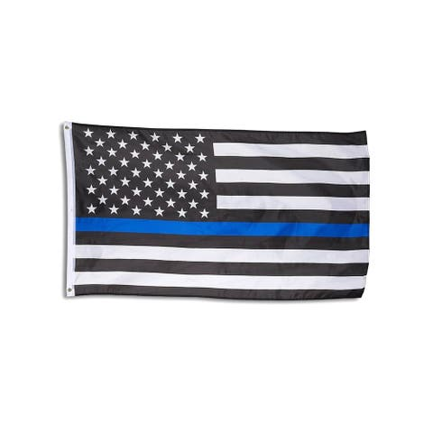 "58""x36"" Blue Line Flag/ Blue Lives Matter American Flag for Police Firefighters"