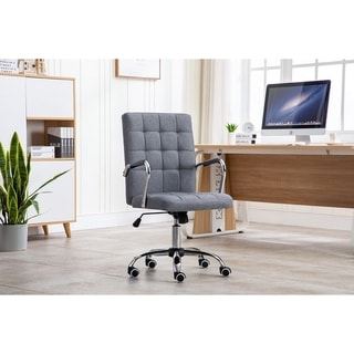 Link to Porthos Home Ocia 360? Swivel Office Chair, Hemp Fabric Upholstery Similar Items in Home Office Furniture