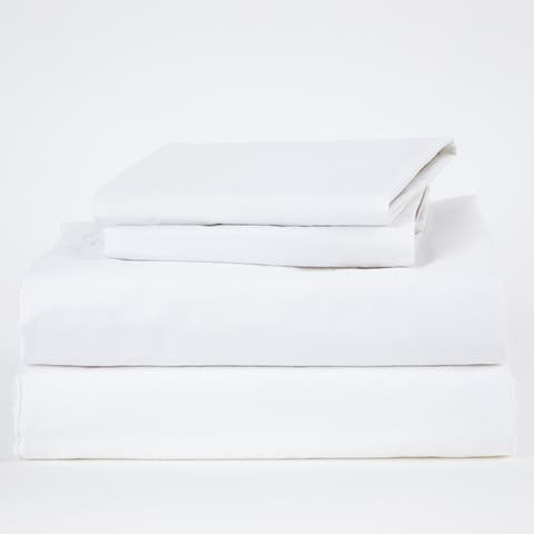 Dreamer Luxe Long Staple Sateen Cotton Bed Sheet Set and Duvet Cover