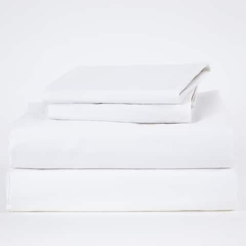 Dreamer Luxe Long Staple Sateen Cotton Bed Sheet Set and Duvet Cover
