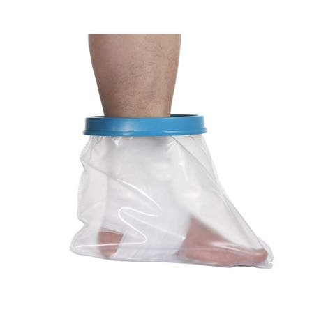 Reusable Foot Cast Cover Waterproof Protector Bandage Injury Wound Leg Shower