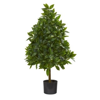 Link to 3' Sweet Bay Cone Topiary Artificial Tree Similar Items in Decorative Accessories