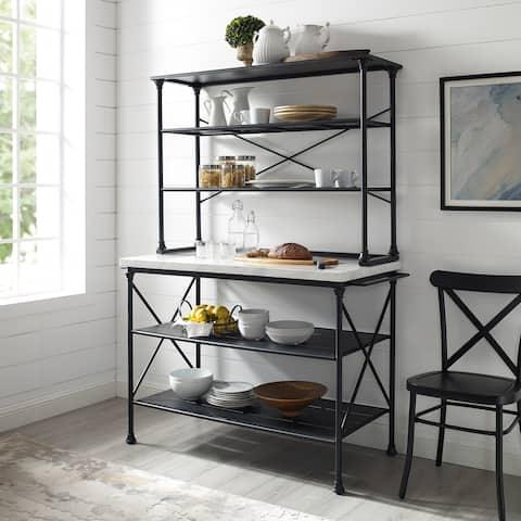 Carbon Loft Davidson 2-piece Kitchen Island and Hutch Set