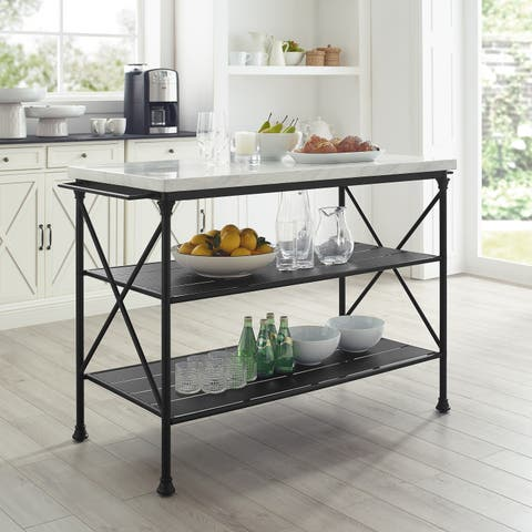 Carbon Loft Davidson Kitchen Island