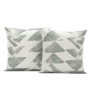 Exclusive Fabrics Traid Printed Cotton Cushion Cover (Sold As Pair)