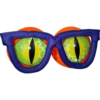 Link to Airblown Inflatables 7 ft. W x 3 ft. H Project Evil Eyes Kaleidoscope Similar Items in Outdoor Halloween Decorations