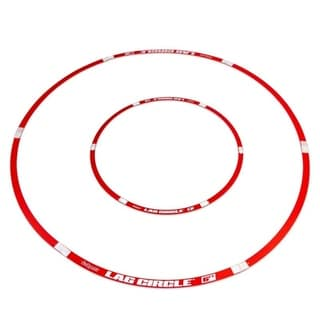 GoSports LAG CIRCLE Putting and Chipping Training Tool - Includes 6' and 3' Circles - 3' and 6' Circles
