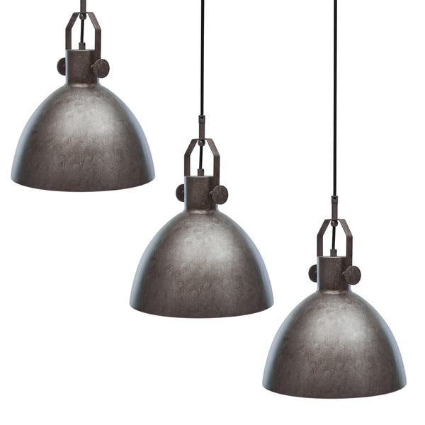 Shop Carbon Loft Almsford Industrial Antique Silver Pendant Light Set Of 3 Overstock 28573964