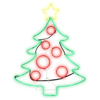 Airblown Inflatables 2 ft. W x 3 ft. H Light Glo Christmas Tree