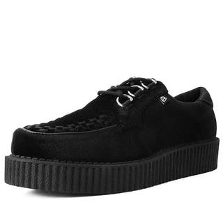Black Velvet Anarchic Creeper Shoes