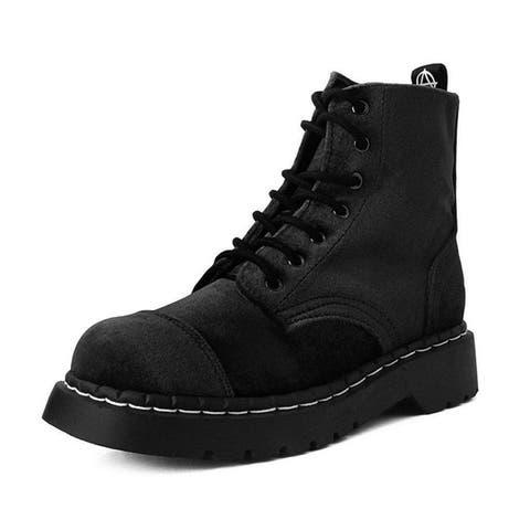 Black Velvet Anarchic Boots