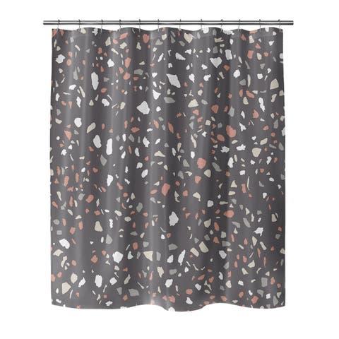VENEZIANA DARK GRAY Shower Curtain By Marina Gutierrez