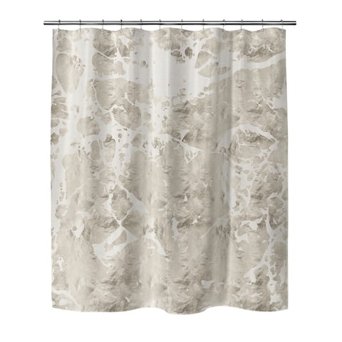 MARBLE IVORY BIG Shower Curtain By Kavka Designs