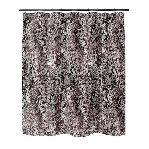 VIPER GREY Shower Curtain By Kavka Designs