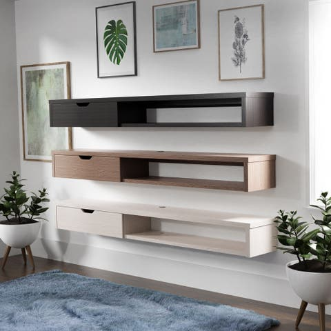 Carson Carrington Rydstorp Floating Wall-mounted Media Console (As Is Item)