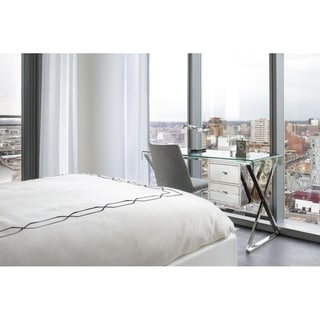 Modern Glass Tyson Desk