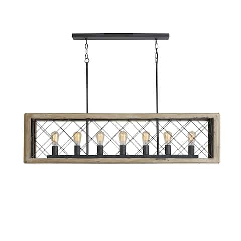7-light Sea Salt Island Fixture