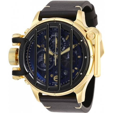 Invicta Men's Vintage 28142 Gold, Black Watch