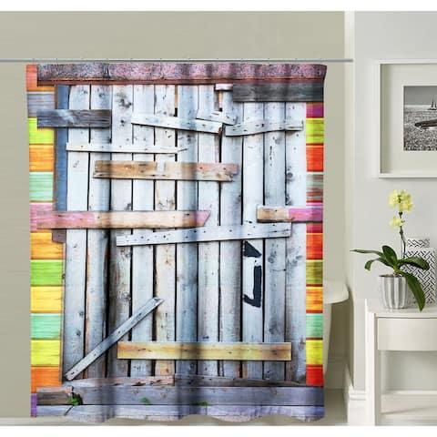 Oyo Concept Modern Speakeasy Shower Curtain